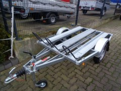 MB 2 PKW Anhänger, Motoradtransporter, 100 km/h